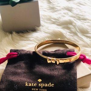 Kate Spade Take A Bow Gold Bangle